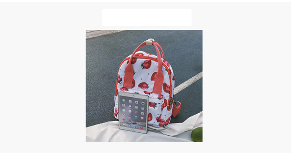 2018 products trending in usa Ins hot floral printed strawberry flowers flamingos dinosaur lady backpack