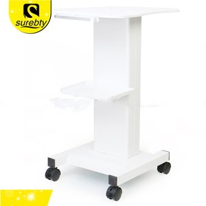 High quality Use convenient with tray iron trolly cart for put weight loss beauty equipment