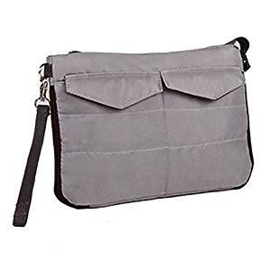 SODIAL(R) iPad Sleeve Handbag Pouch Cover Bag for Mini ipad 1/2/3/4/5 Air 10 Inch Case(Gray)