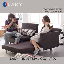 LK-SB132 Home furniture fabric sofa, european fabric sofa bed