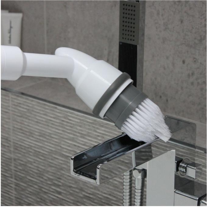 ロングハンドル電気スクラバー浴室キッチンクリーニングブラシワイヤレス充電調節可能な