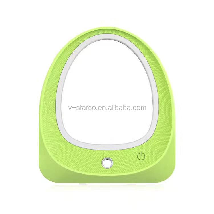 Ricaricabile touch screen led illuminato vanity specchio per il trucco con lampada da tavolo a - Specchio per trucco illuminato ...