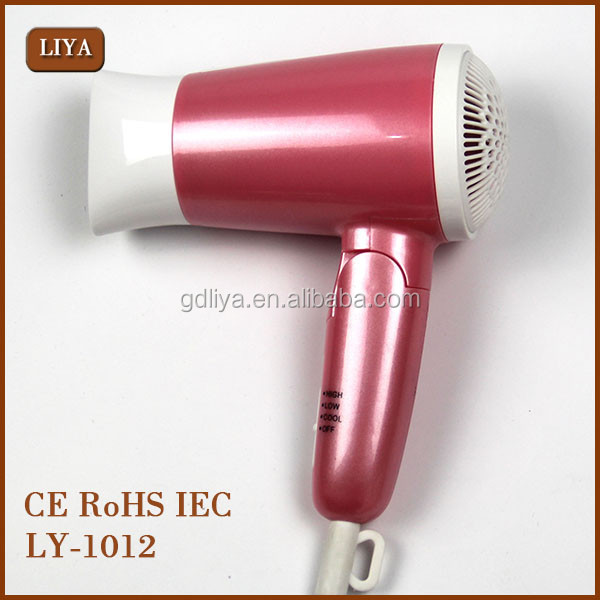 LIYA Free Sample Wholesale Mini Hair Dryer Warm And Cold Air Design Matrix Hair Dryer