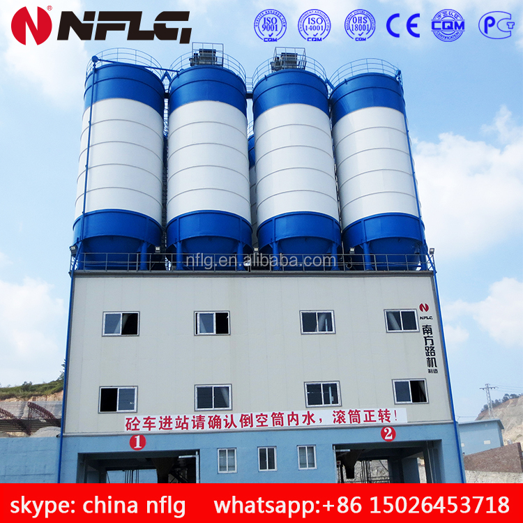 High quality low price cement mixer plant and related equipments
