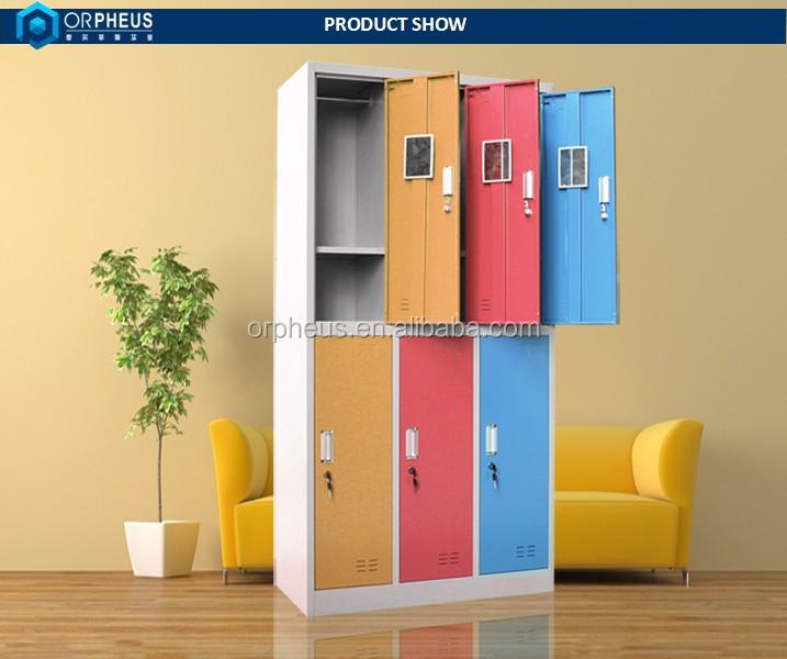 High Quality Multiple Door Custom Metal Clothes Ark Home Conforama Wardrobes
