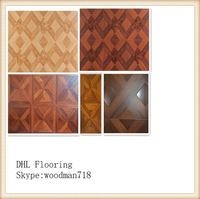 10mm OEM high quality waterproof parquet laminated flooring in door used