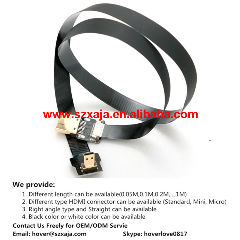 HDMI flexible flat cable flat ribbon cable FFC cable for Zen Z15 PTZ GH4