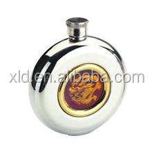 1oz flask bottle 1.5l vacuum travel thermos golden flower flask