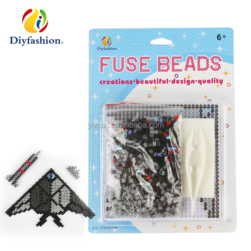 Diyfashion 5mm hama perler fuse beads the owl set with fuse beads puzzle iron paper and twezzer hama beads toys for kids 18019