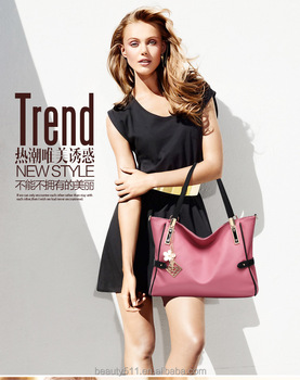 3cb7725d5309 2017 new model lady Shopping bag shoulder bag fashion trends ladies Tote  bags Beach Handbags HB11