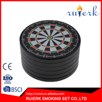 New-pattern Grinder Tobacco & Herb Grinder Dartboard-shaped Grinder EK-836