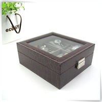 customized faux leather personalized pewter musical travel jewelry box