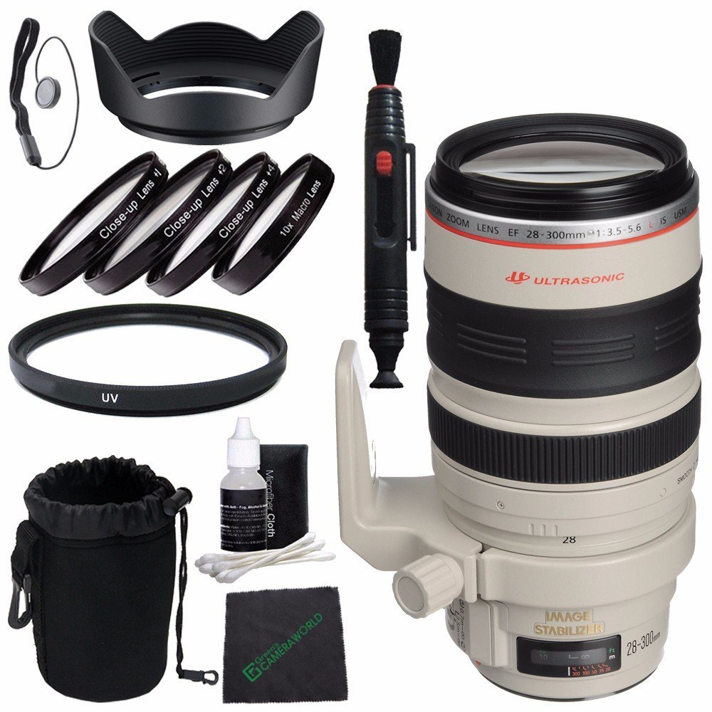 77 mm UV Filter Upgraded Pro 77mm HD MC UV Filter Fits Canon EF 28-300mm f//3.5-5.6L IS USM 77mm Ultraviolet Filter 77mm UV Filter