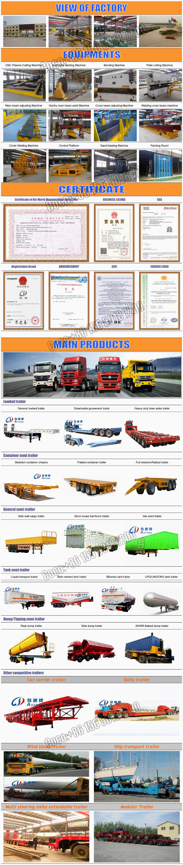 China Manufacture 3 Axles 42000 Liters Water Transporting Fuel Moreover Car Hauler Trailer Plans Utility Wiring 15650197200 5