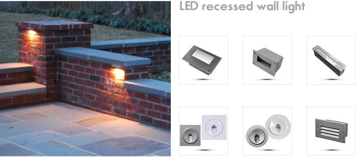 recessed led stair light 24v 12v indoor outdoor led step lighting