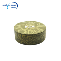 Customized graceful birthday cake round barrel shape package paper box