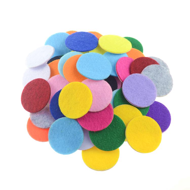 """25 pieces GRAB BAG 1.5/"""" felt circles"""