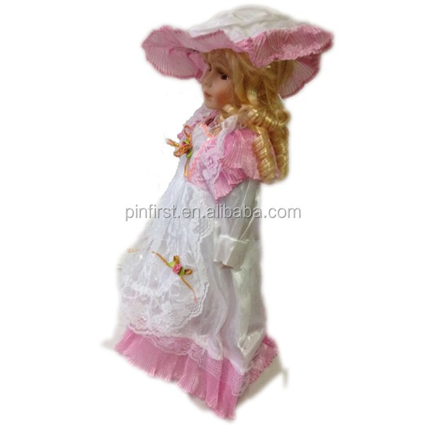 "16"" Cute Wholesale Popular Gorgeous Porcelain <strong>Dolls</strong>"