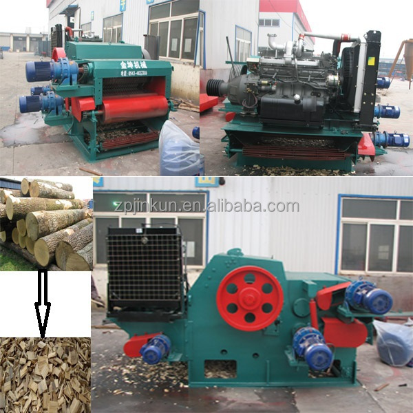 Ce Approved Wood Timber Chipper/drum Wood Chipping Machine/wood ...