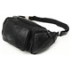 Tiding Fashion Cow Hide Running Pouch Belt Fanny Pack Leather Waist Bag