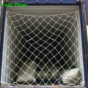 heavy duty PP durable knotted container cargo net for safety protection