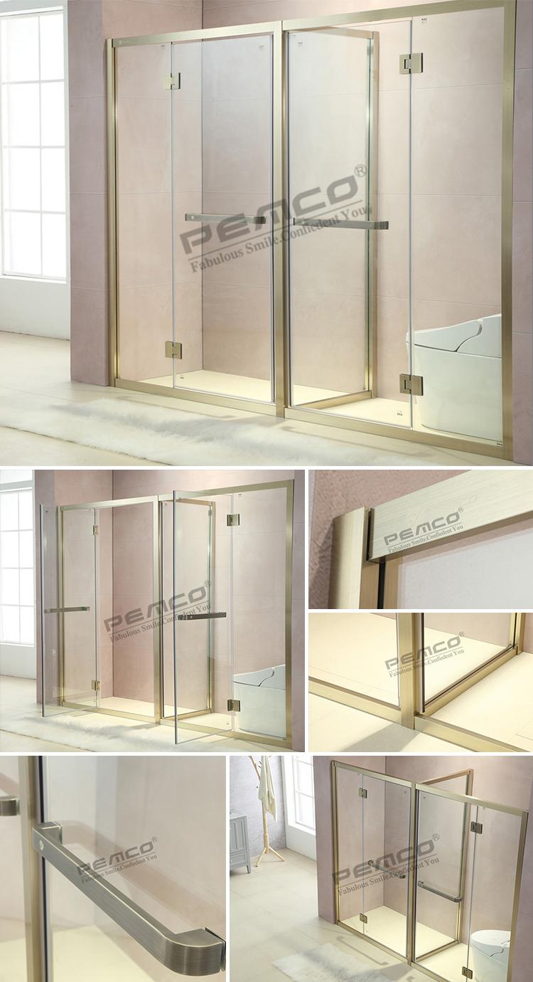 Building Material Apartment Double Door Double Open Glass ...