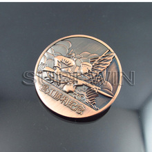 custom metal crafts engraved old chinese coins