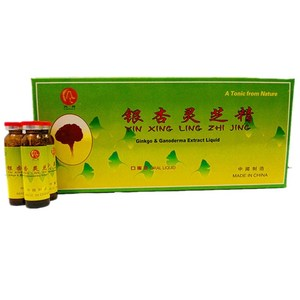 health care product GINKGO &GANODERMA EXTRAC LIQUID power energy drink