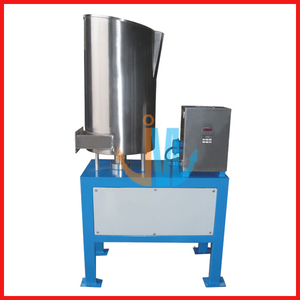 Centrifugal Force Feeder for recycling granulate