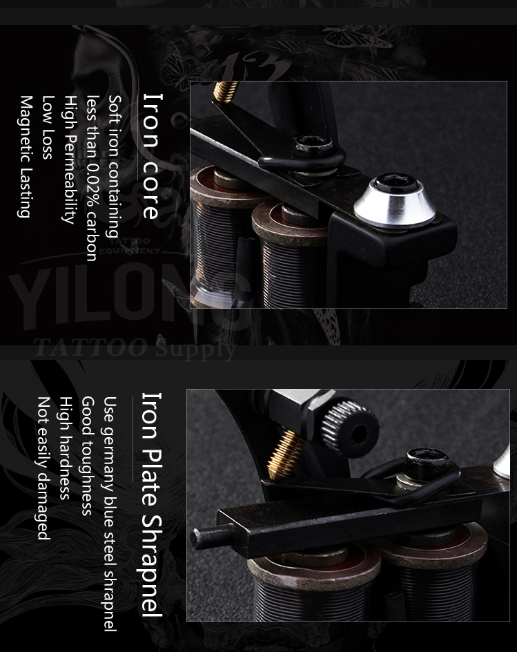 Yilong High-quality top coil tattoo machines suppliers for tattoo machine-18