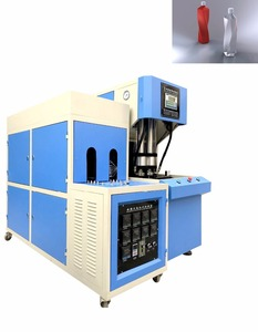 28mm to 200mm wide mouth jar bottles blowing molding machine semi auto stretch 2 cavity blowing machine prices