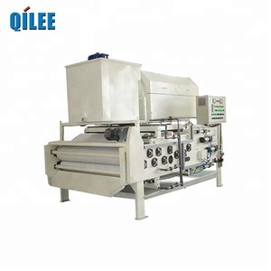 QILEE chemical plant slurry dewatering belt filter press