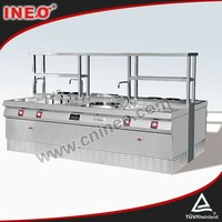 Hotel Kitchen Combination italian cookers/gas burner stove/gas cooking range