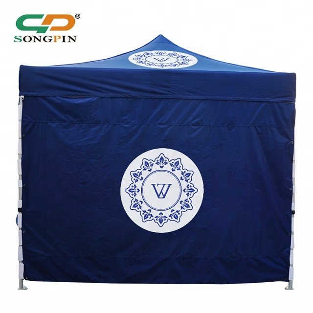 Top quality customized full color printing Oxford/polyester outdoor 3x3m frame canvas hotsale tents for exhibition <strong>trades</strong>