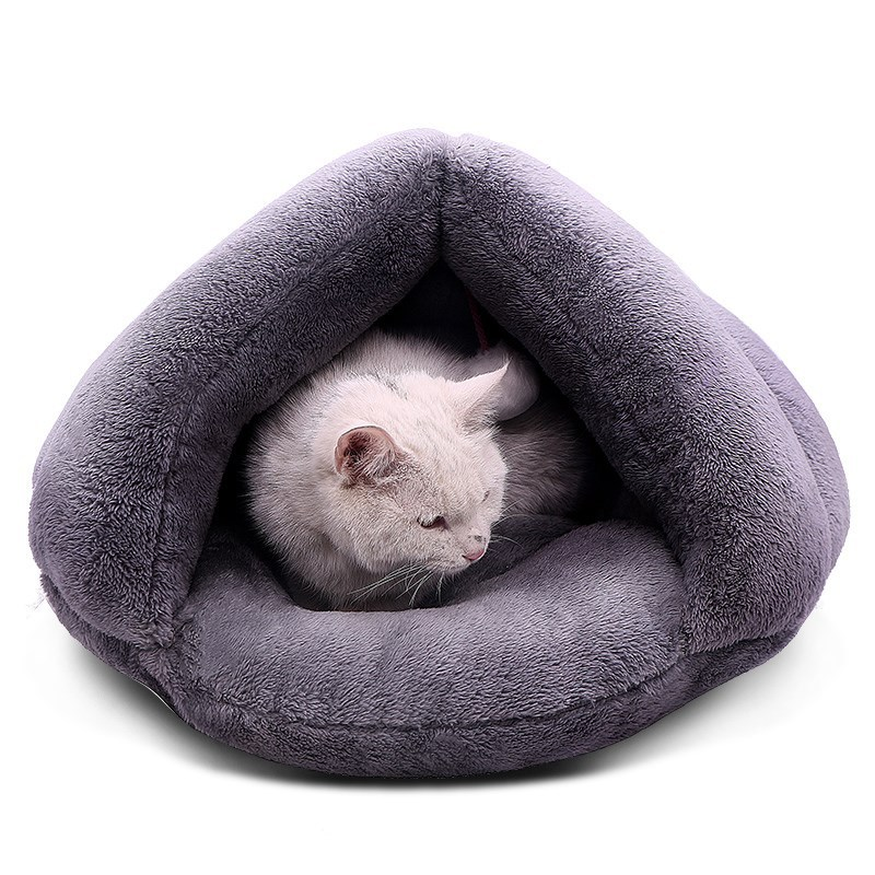 Warm Cat Cave <strong>Bed</strong> Dog House Puppy Kennel Shelter for Kitty Rabbit and Nest <strong>Edge</strong> With Soft Hair nesting dog <strong>bed</strong> australia