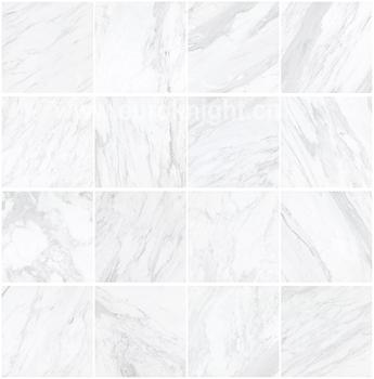 White Carrara Limestone Porcelain Floor Tiles For Home Improvement