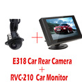 4 3 Inch Car Rearview Monitor RVC 210 E318 Night Vision Waterproof Color Car Rear View