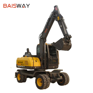 Made In China High Quality Cheap Price 8 Ton Wheel Excavator Karachi Pakistan