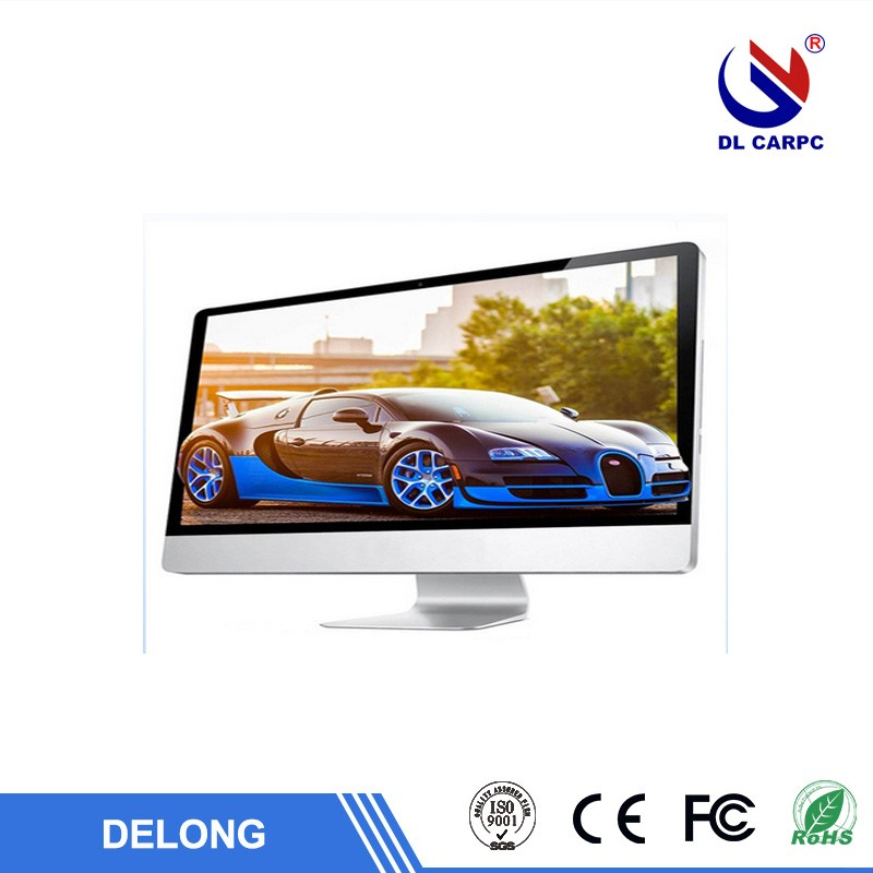 Full HD OEM High performance desktop computer with ips monitor barebone all in one tv pc