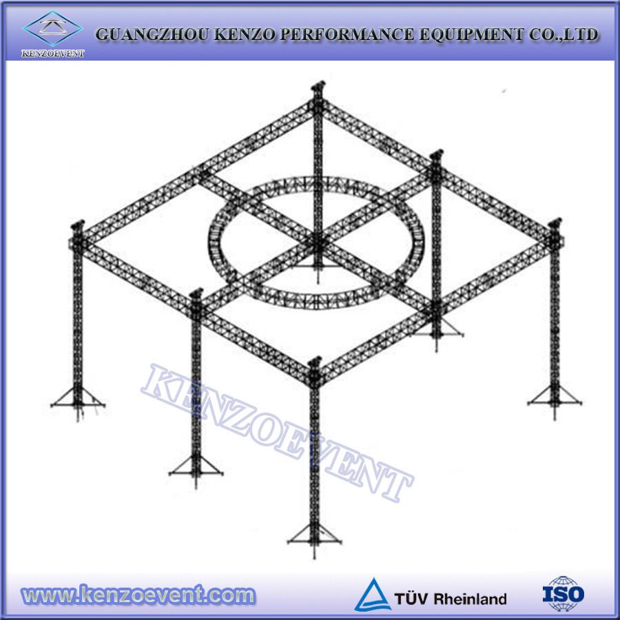 12 Inch Used Aluminum Truss Spigot Stage Truss Buy 12