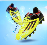 HOBIBEAR 2016 new custom outdoor men turf soccer boots boy football spike shoe