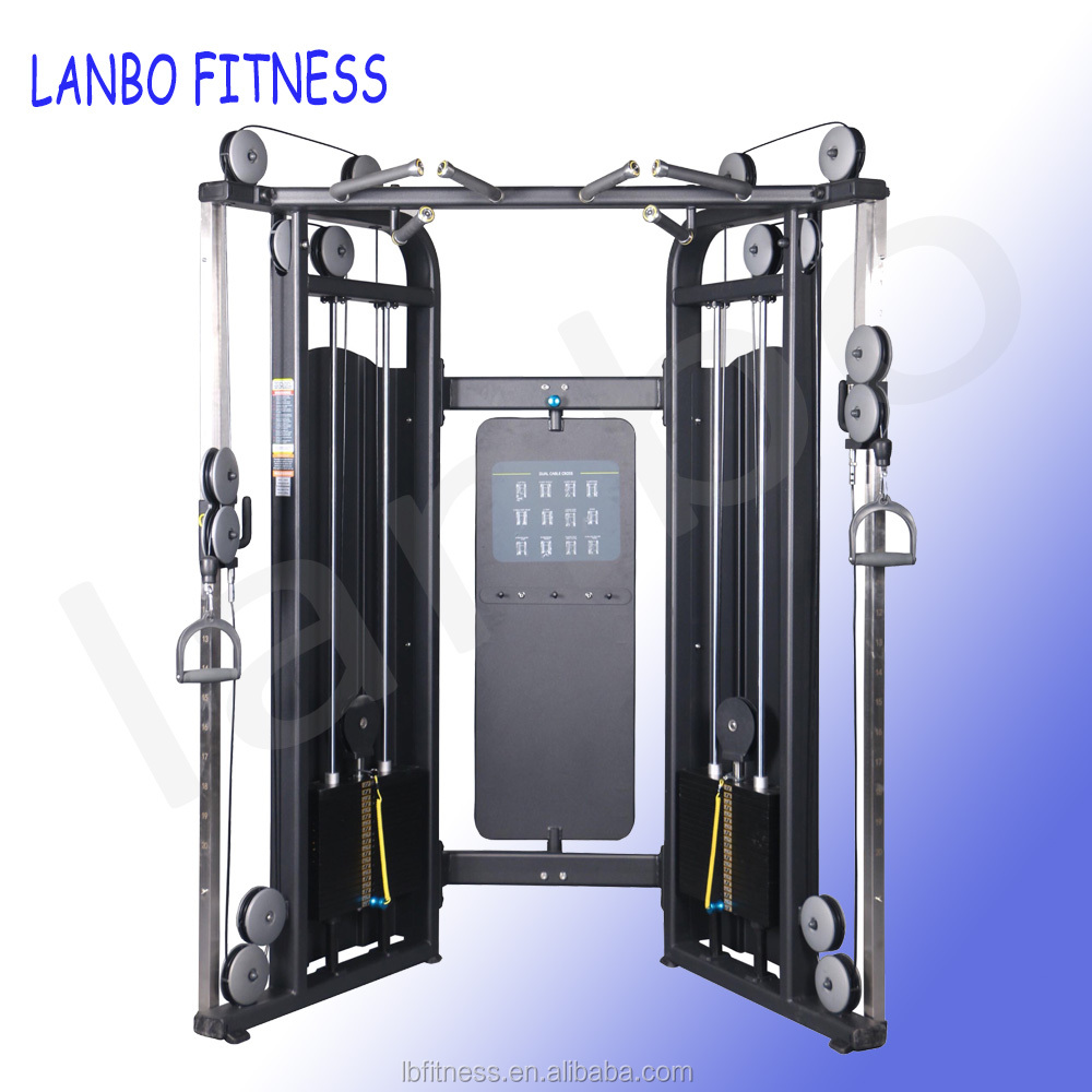 high quality gym club machine multi functional trainer gym multi station functional trainer <strong>equipment</strong> gym fitness <strong>equipment</strong>