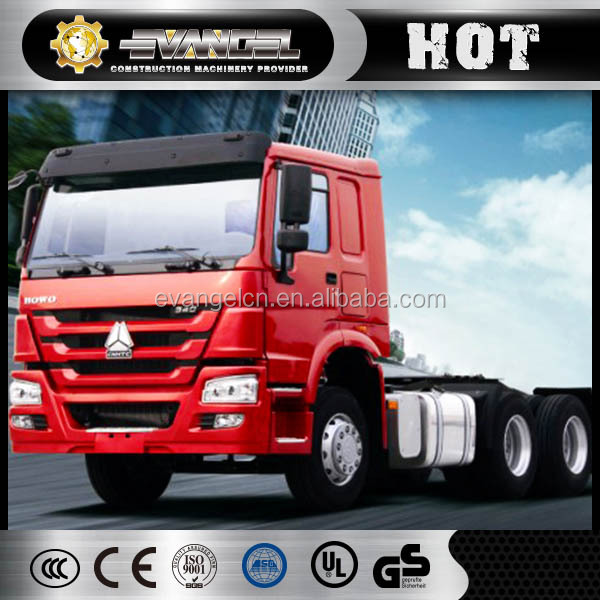 HOWO Gold Prince 6x4 6x2 4x2 tractor truck,truck head made in China