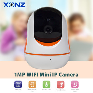 Security Two Way Audio Wireless IP Camera 720P Review Monitoring Camera fo Child