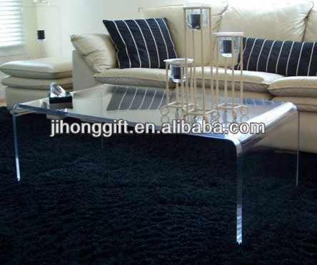 Charmant Acrylic Furniture Lucite Waterfall Coffee Table, Acrylic Furniture Lucite  Waterfall Coffee Table Suppliers And Manufacturers At Alibaba.com