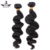 Raw indian temple hair loose wave mink hair bundle
