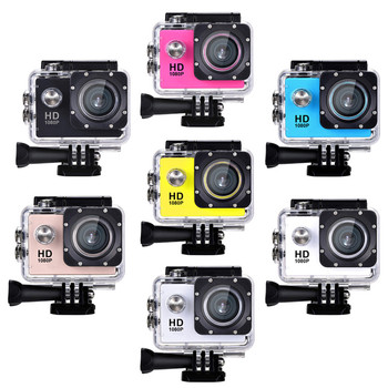 Shenzhen OEM fashion desgin Sport DV Video Action Camera for gift use with 30M underwater