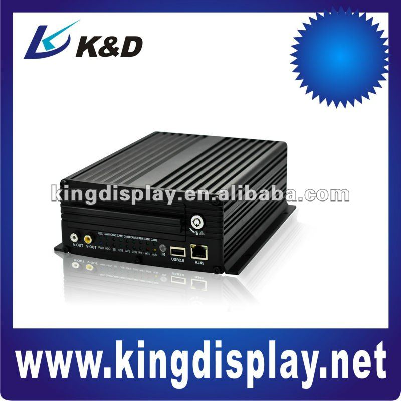 high quality cheap 4CH HDD GSM 3G WIFI Mobile Standalone DVR