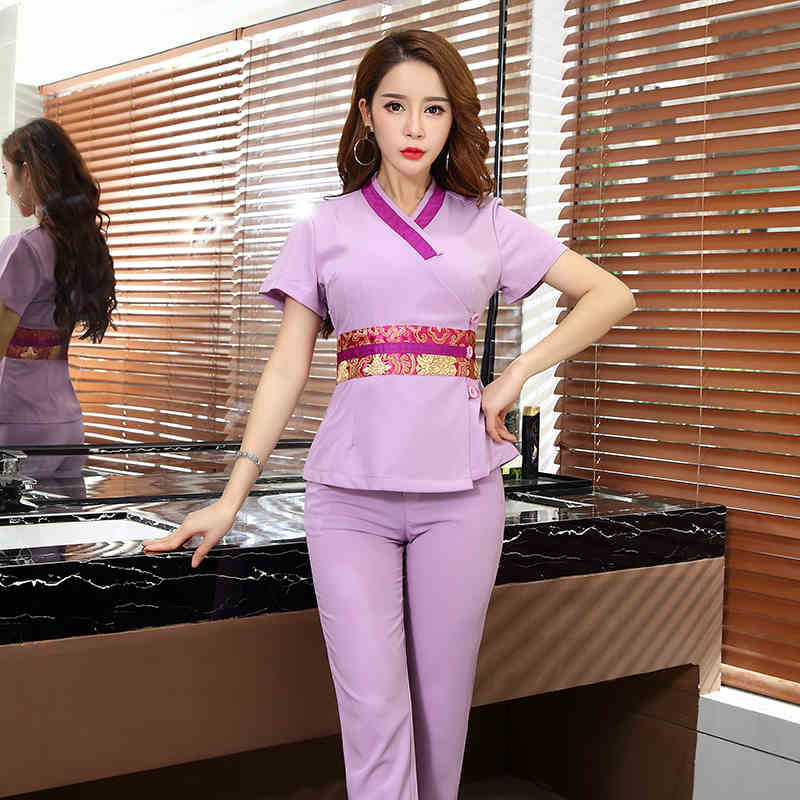 Popular thai spa uniform buy cheap thai spa uniform lots for Uniform thai spa