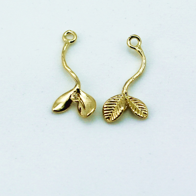 Buy cheap china wholesale charm pendant products find china beadsnice id29178 diy pendants jewelry findings brass 18k gold plating treeleaf 24x11mm hole aloadofball Images
